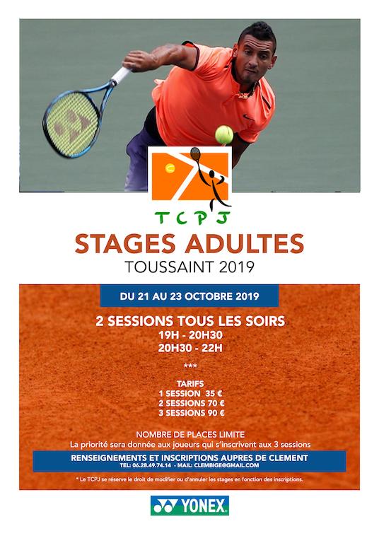 Stages Adultes Vacances de La Toussaint
