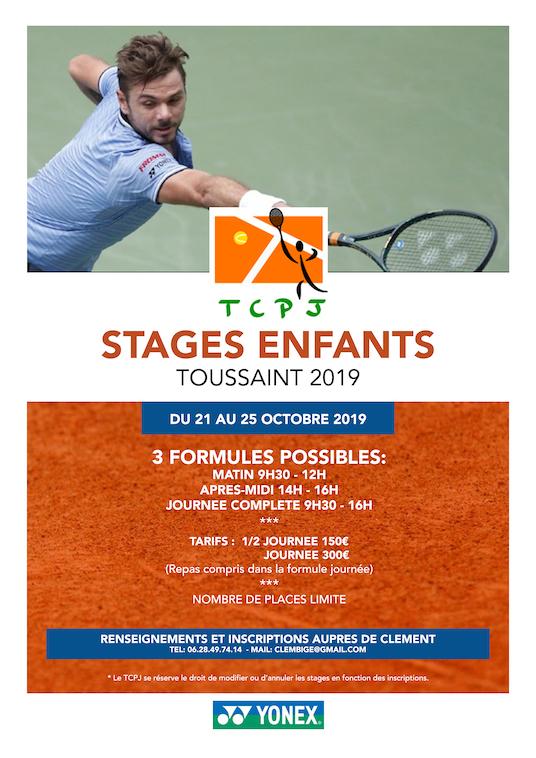 Stages Jeunes Vacances de La Toussaint