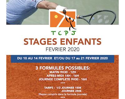 Stages Jeunes Hiver 2020